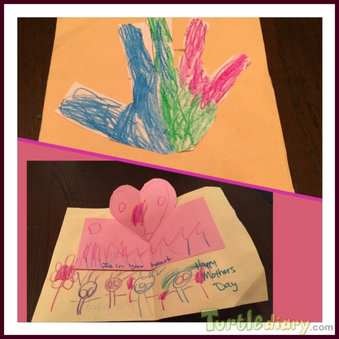 My hand is in your heart - Mother\