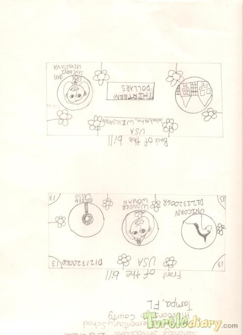 Sanchayi 13 DollarBill-1 - Design Your Own Money Contest March 2015 Submission