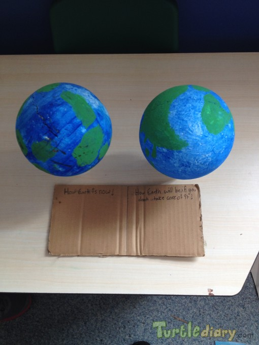 Global warning - Earth Day Contest April 2015 Submission