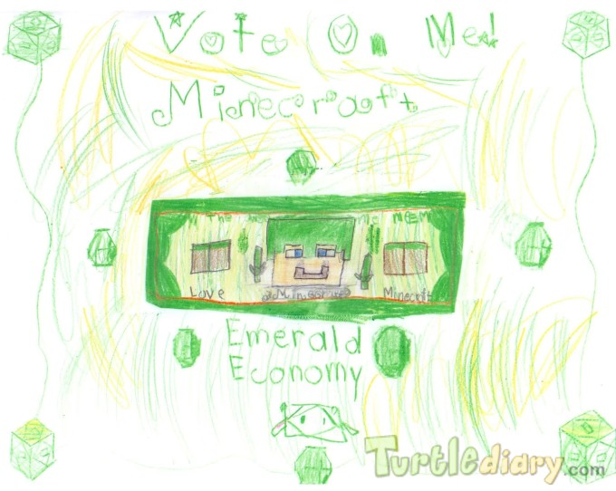 Ambers Emerald Economy - Design Your Own Money Contest March 2015 Submission