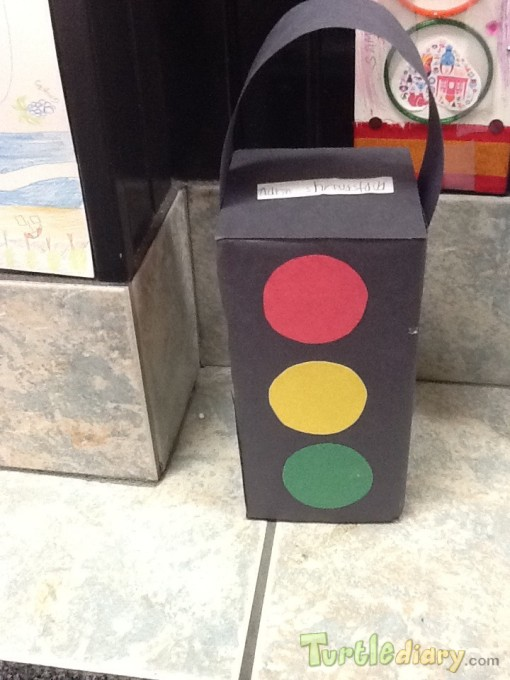 Traffic light - Earth Day Contest April 2015 Submission