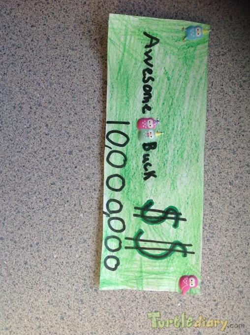 GO WES Bella - Design Your Own Money Contest March 2015 Submission