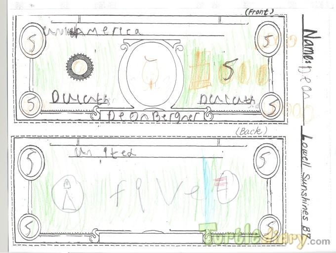 Duluth Five Dollar bill - Design Your Own Money Contest March 2015 Submission