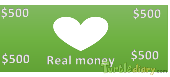 the heart dollor - Design Your Own Money Contest March 2015 Submission