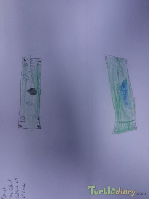 Greenbacks front and back - Design Your Own Money Contest March 2015 Submission
