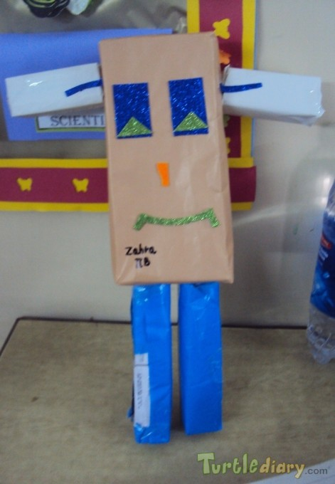 Recycled Robot - Earth Day Contest April 2015 Submission