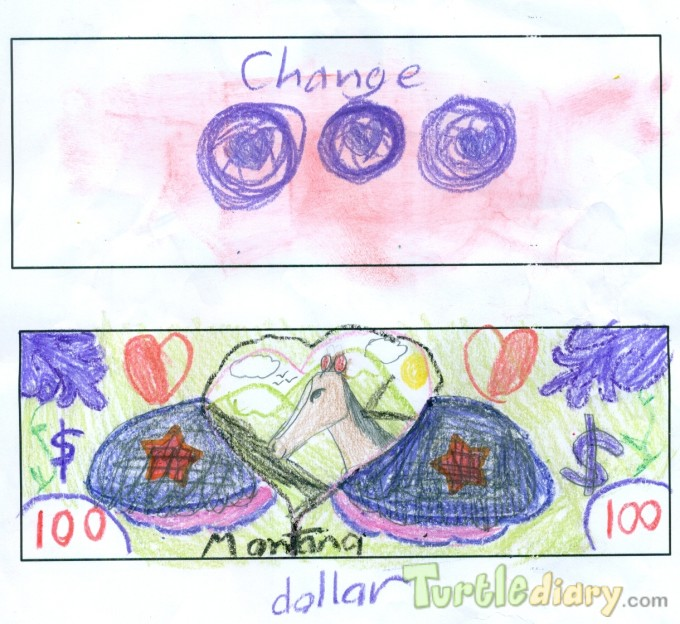 Love My Horse Money - Design Your Own Money Contest March 2015 Submission