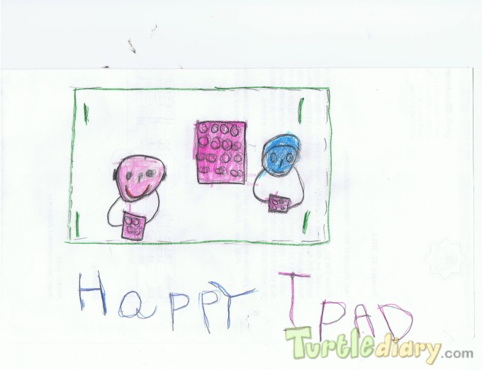 Happy Ipad - Design Your Own Money Contest March 2015 Submission