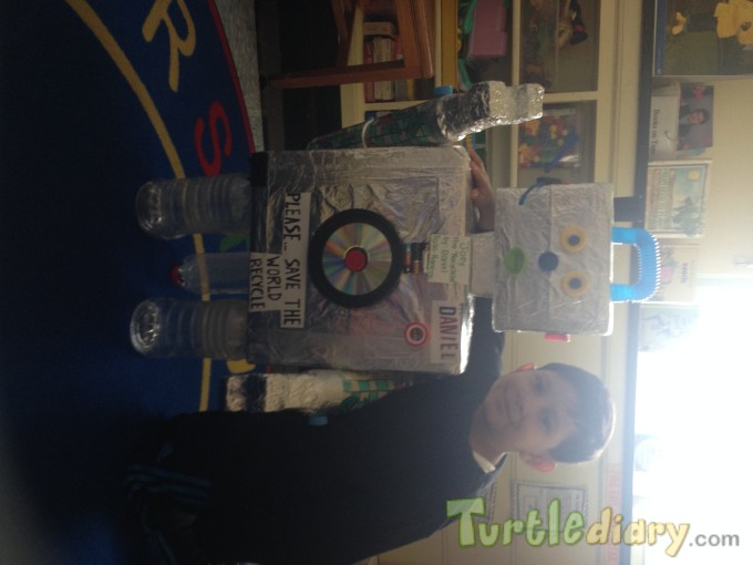 My Recyclebot pal - Earth Day Contest April 2015 Submission