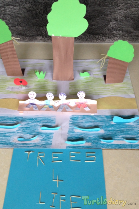 Trees for life - Earth Day Contest April 2015 Submission