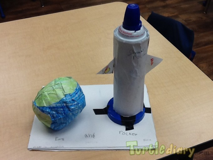 Earth and Rocket - Earth Day Contest April 2015 Submission