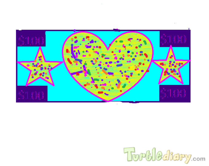 A Colorful Dollar - Design Your Own Money Contest March 2015 Submission