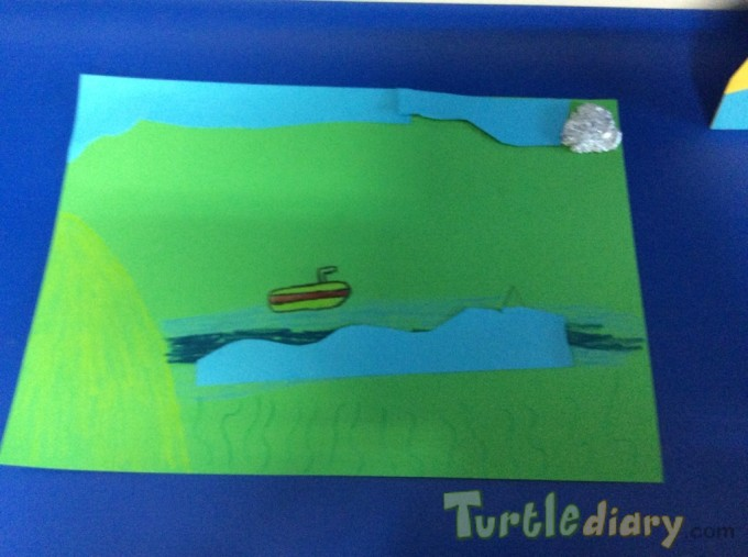 Recycled scene collage - Earth Day Contest April 2015 Submission