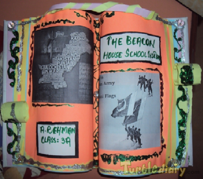 Recylced 3D Book - Earth Day Contest April 2015 Submission