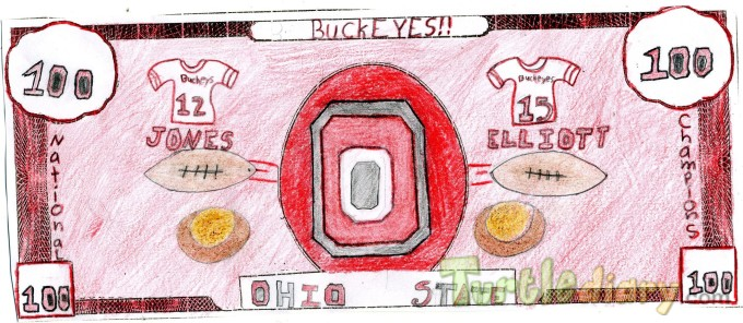 Ohio State Dollar - Design Your Own Money Contest March 2015 Submission