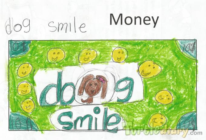 Dog Smile Money - Design Your Own Money Contest March 2015 Submission