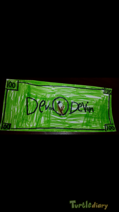 Devin Money - Design Your Own Money Contest March 2015 Submission