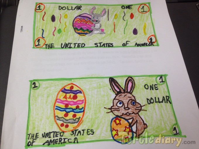 Bunny Money  - Design Your Own Money Contest March 2015 Submission