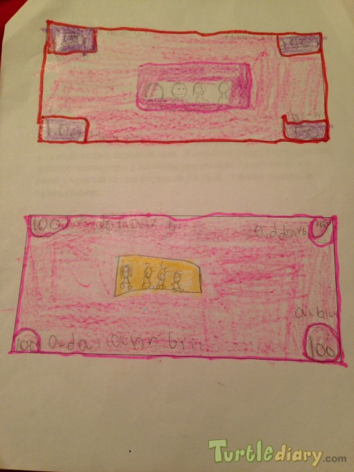 Pink dollar - Design Your Own Money Contest March 2015 Submission
