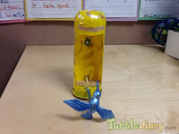 Recycled Bird Feeder - Earth Day Contest April 2015 Submission