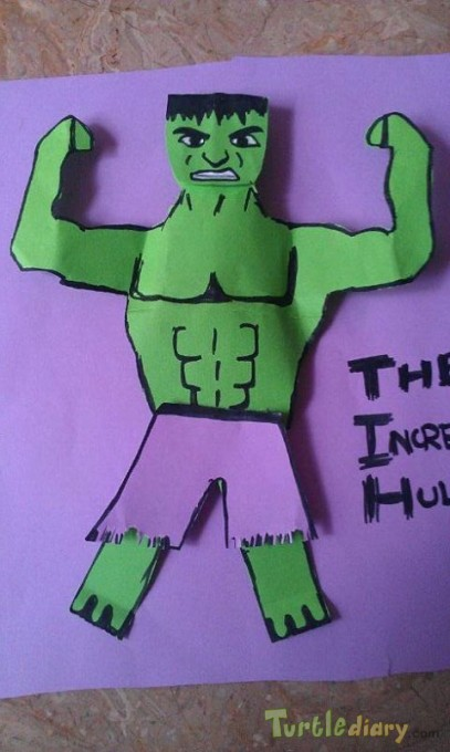 hulk paper model - Earth Day Contest April 2015 Submission