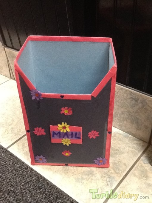 Recycled Mail Box - Earth Day Contest April 2015 Submission