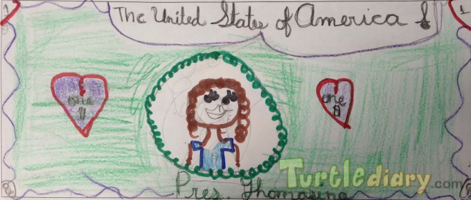 Thomasina Dollar - Design Your Own Money Contest March 2015 Submission