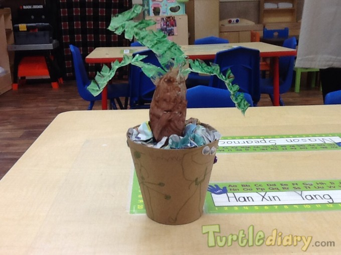 Recycled Palm Tree - Earth Day Contest April 2015 Submission