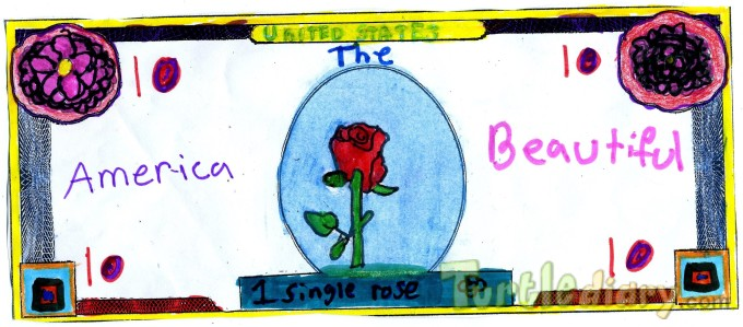 America the Beautiful - Design Your Own Money Contest March 2015 Submission