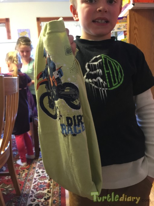 Old Dirt Bike shirt is now a bag - Earth Day Contest April 2015 Submission