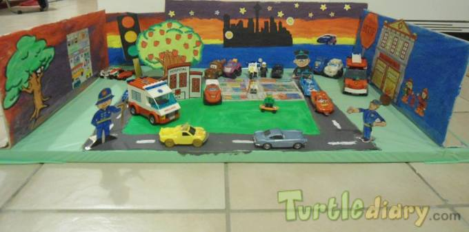 Recycled City - Earth Day Contest April 2015 Submission