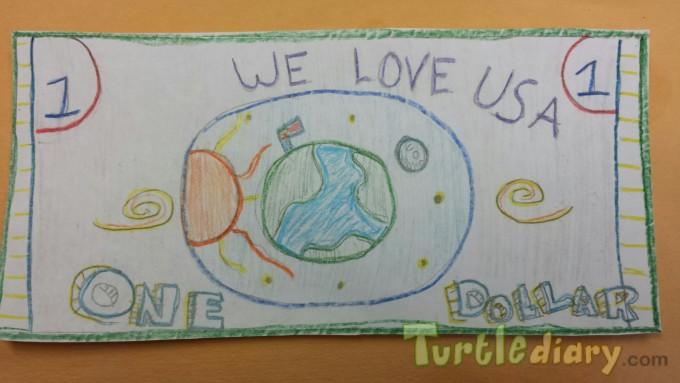 We Love USA - Design Your Own Money Contest March 2015 Submission