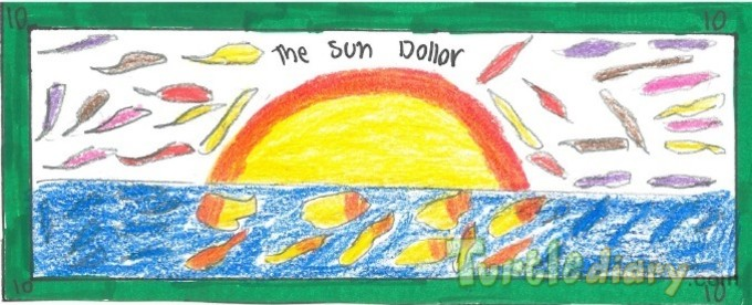The Sun Dollar - Design Your Own Money Contest March 2015 Submission