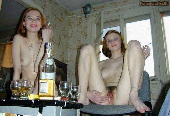 Секс с пьяной шалавой