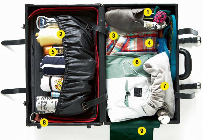 Собраны чемоданы