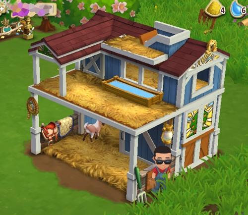 Level 5 Animal Barn
