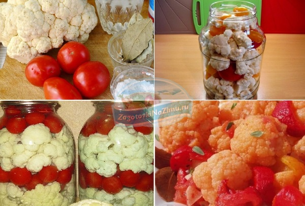 Капуста  с помидорами  на зиму: золотые рецепты с фото