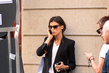 Elisabetta Canalis Elisabetta Canalis Out and About in Milan