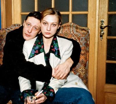 Михаил с первой женой Евгенией