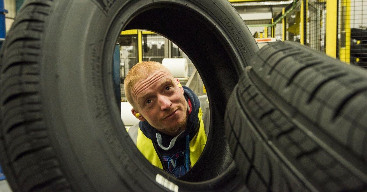 Как делают шины для машин