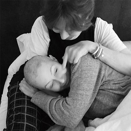 Шэннен Доэрти с мамой Розой