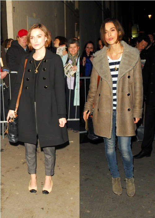 Keira knightley outfits