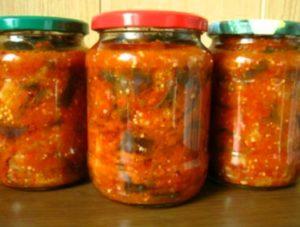 Заготовки салат манжо