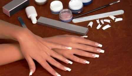 How to get acrylic nails off without breaking real nails