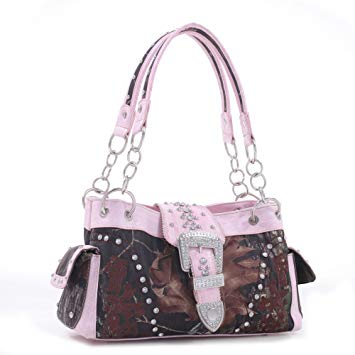 Mossy oak pink camo purses