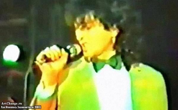 Молодой Григорий Лепс (конец 80-х) в группе Индекс-398