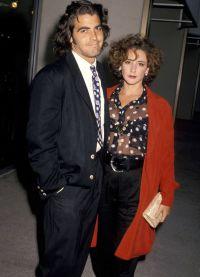 Джордж Клуни с первой женой Талией Бальзам