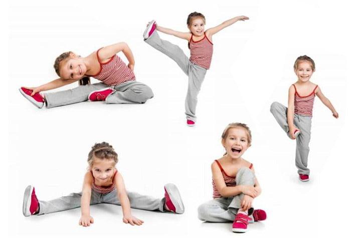 Упражнения для растяжки для детей