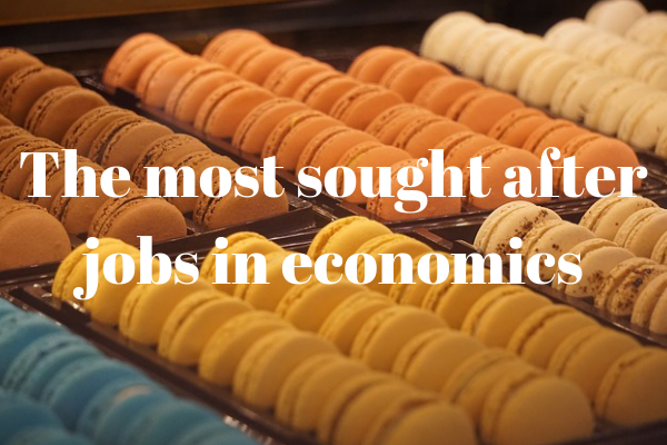 Most in-demand jobs in economics