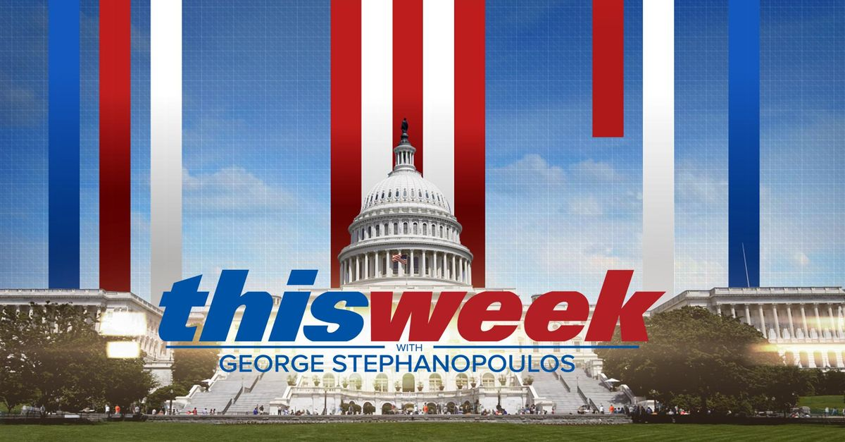 This week with george stephanopoulos full video